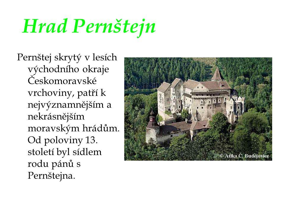Hrad Pernštejn