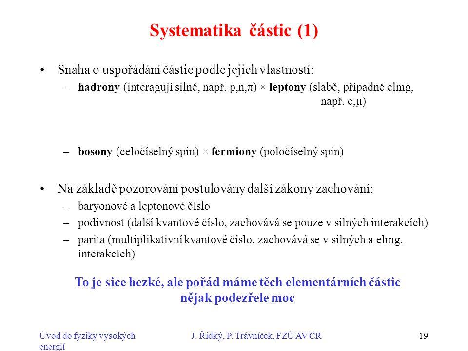 J. Řídký, P. Trávníček, FZÚ AV ČR