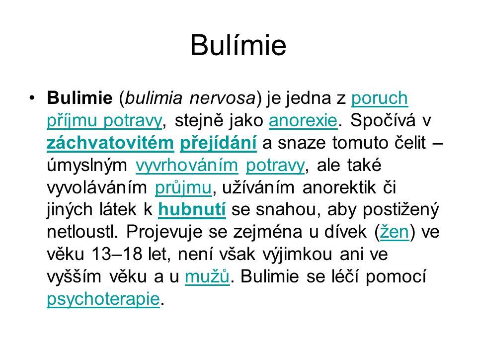 Bulímie