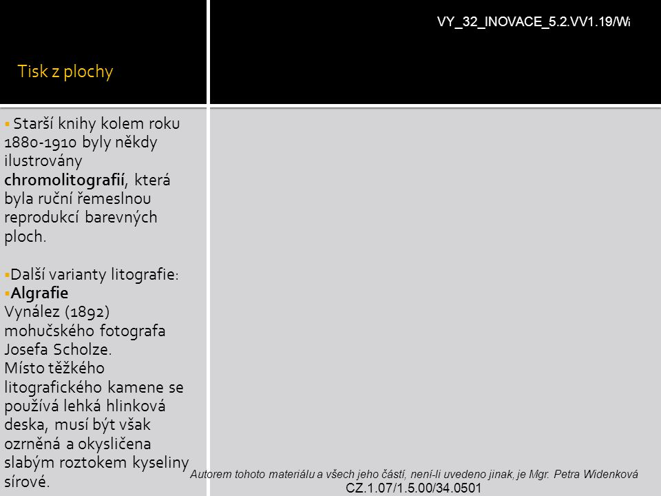 Tisk z plochy VY_32_INOVACE_5.2.VV1.19/Wi.
