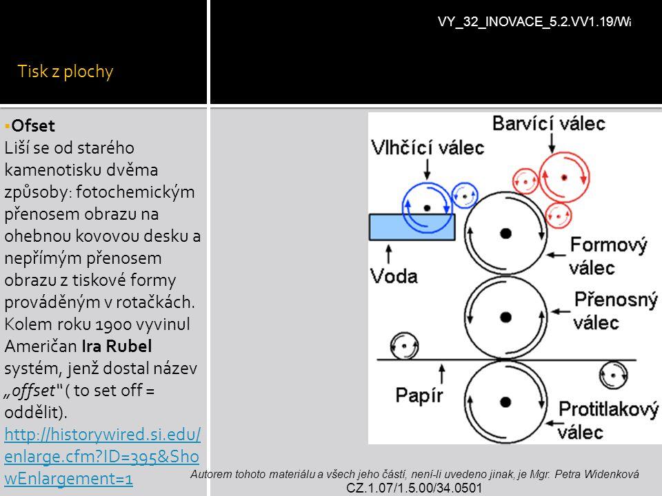 Tisk z plochy VY_32_INOVACE_5.2.VV1.19/Wi. Ofset.
