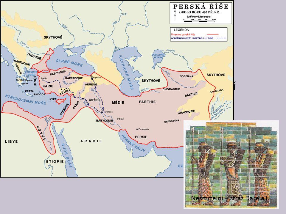 Peršané žili původně u Perského zálivu v dnešním Íránu