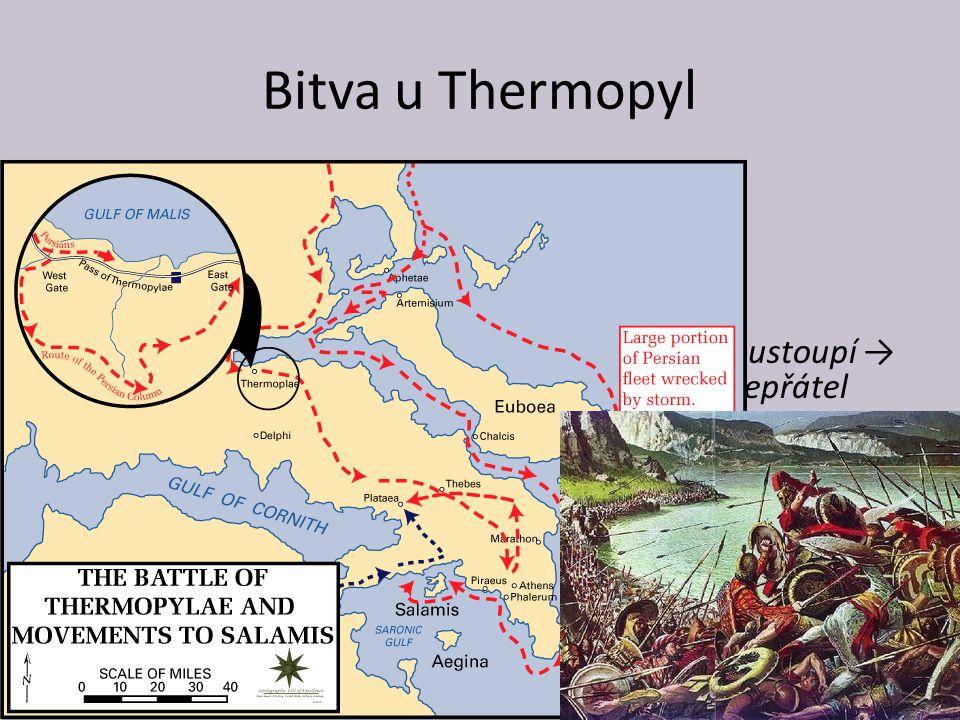 Bitva u Thermopyl 480 př. Kr. – nový perský útok