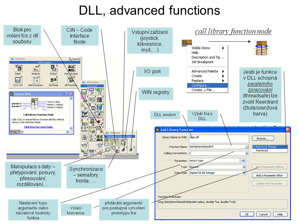 DLL, advanced functions