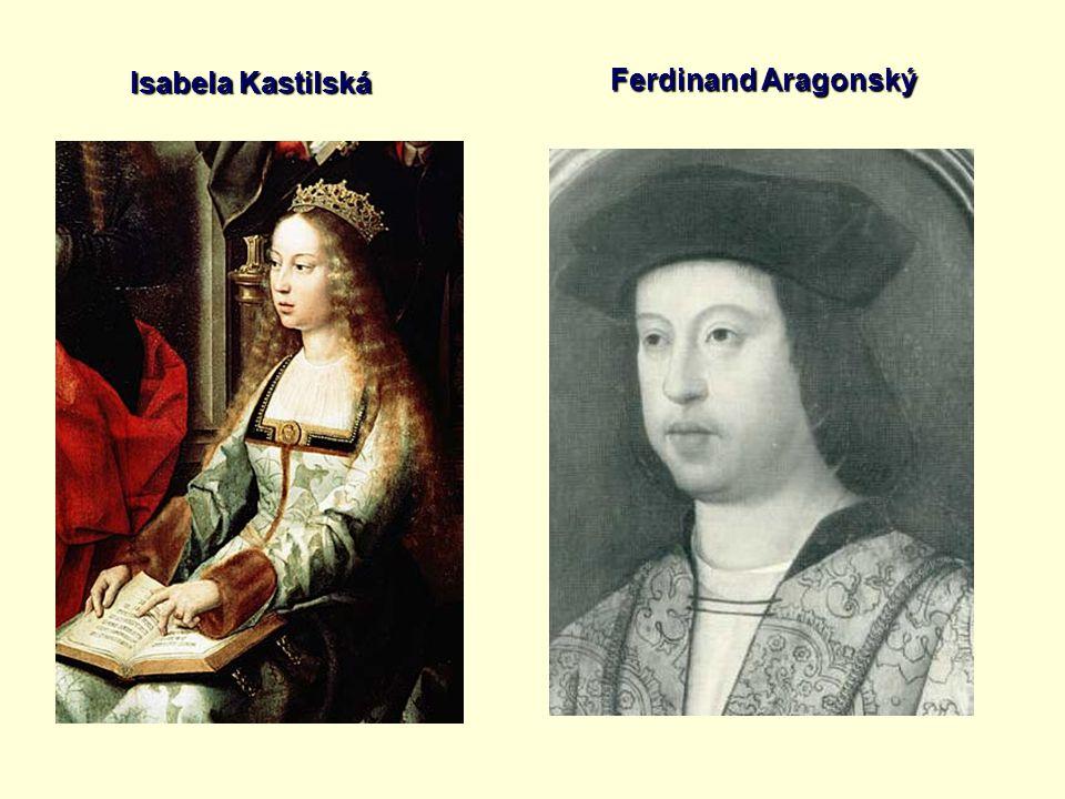 Isabela Kastilská Ferdinand Aragonský