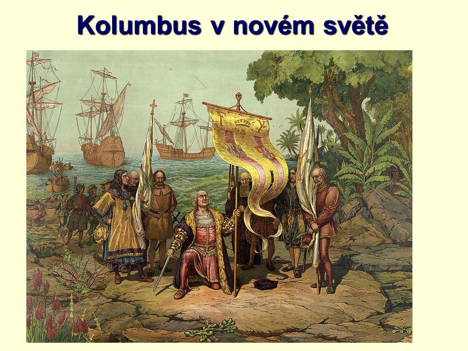 Kolumbus v novém světě