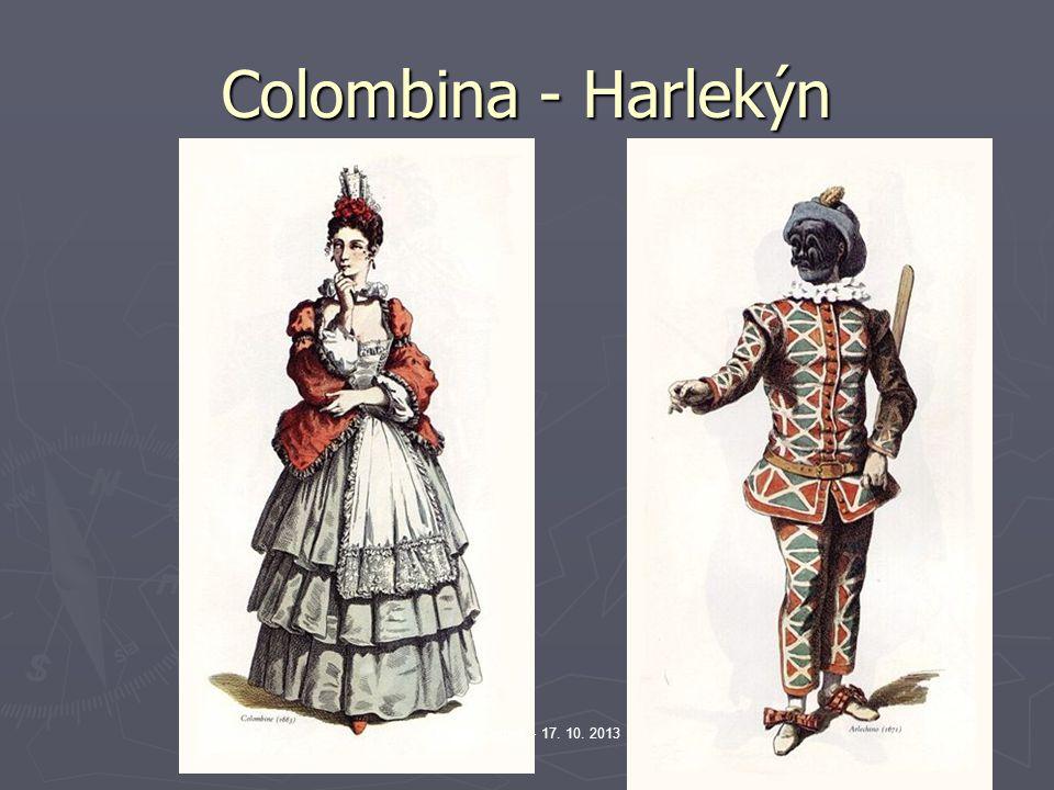 Colombina - Harlekýn Václav Cejpek - 17. 10. 2013