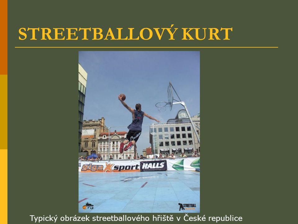 STREETBALLOVÝ KURT Typický obrázek streetballového hřiště v České republice
