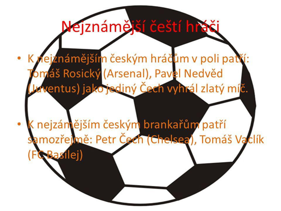 Nejznámější čeští hráči