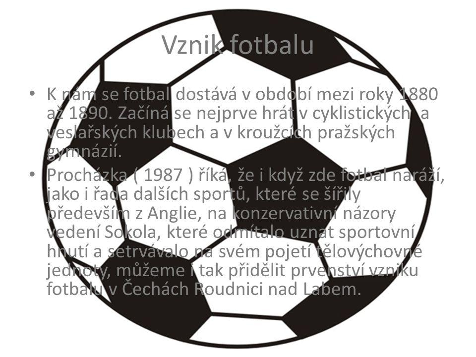 Vznik fotbalu