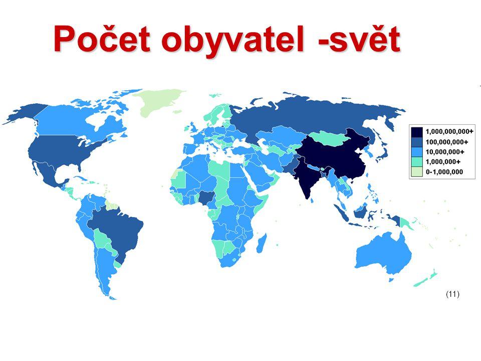 Počet obyvatel -svět (11)