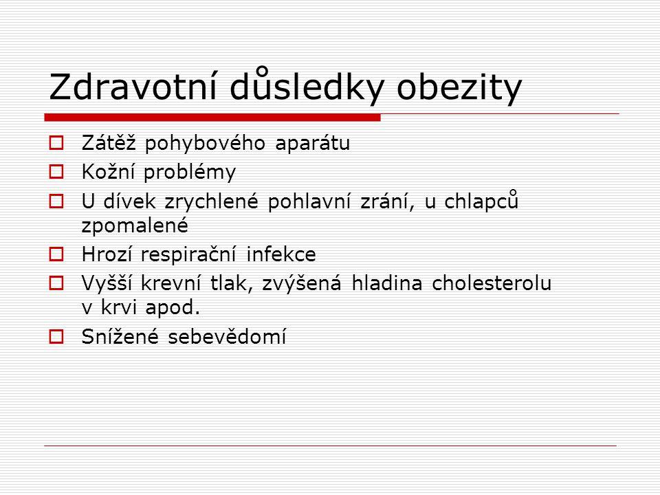 Zdravotní důsledky obezity