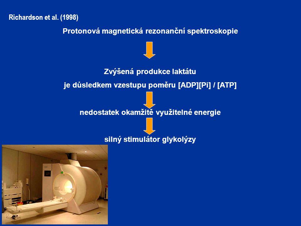 Protonová magnetická rezonanční spektroskopie