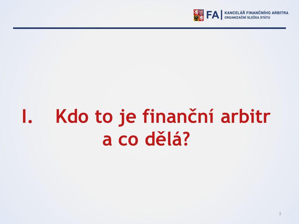 Kdo to je finanční arbitr