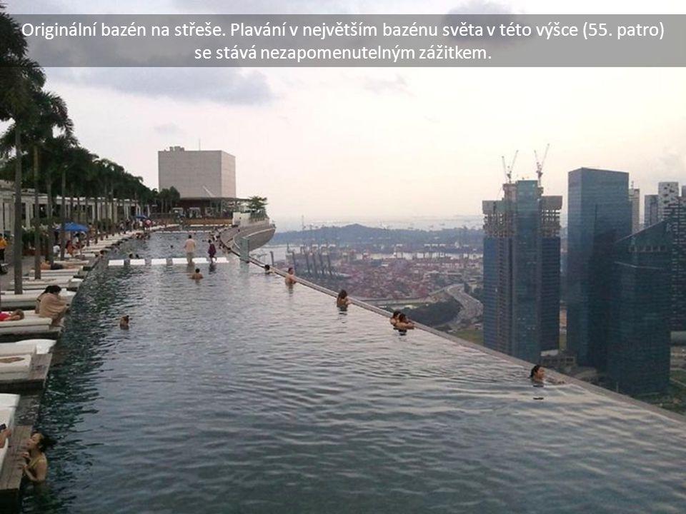 Originální bazén na střeše
