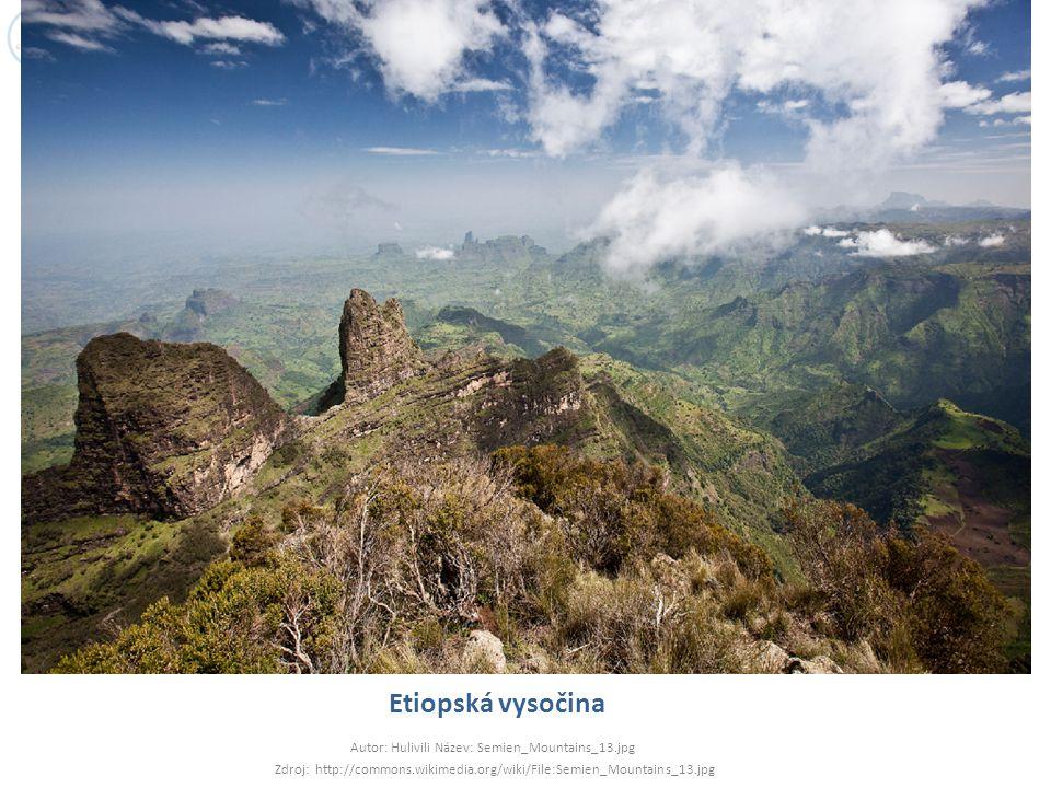 Etiopská vysočina Autor: Hulivili Název: Semien_Mountains_13.jpg