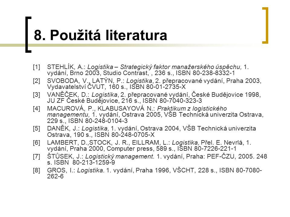 8. Použitá literatura