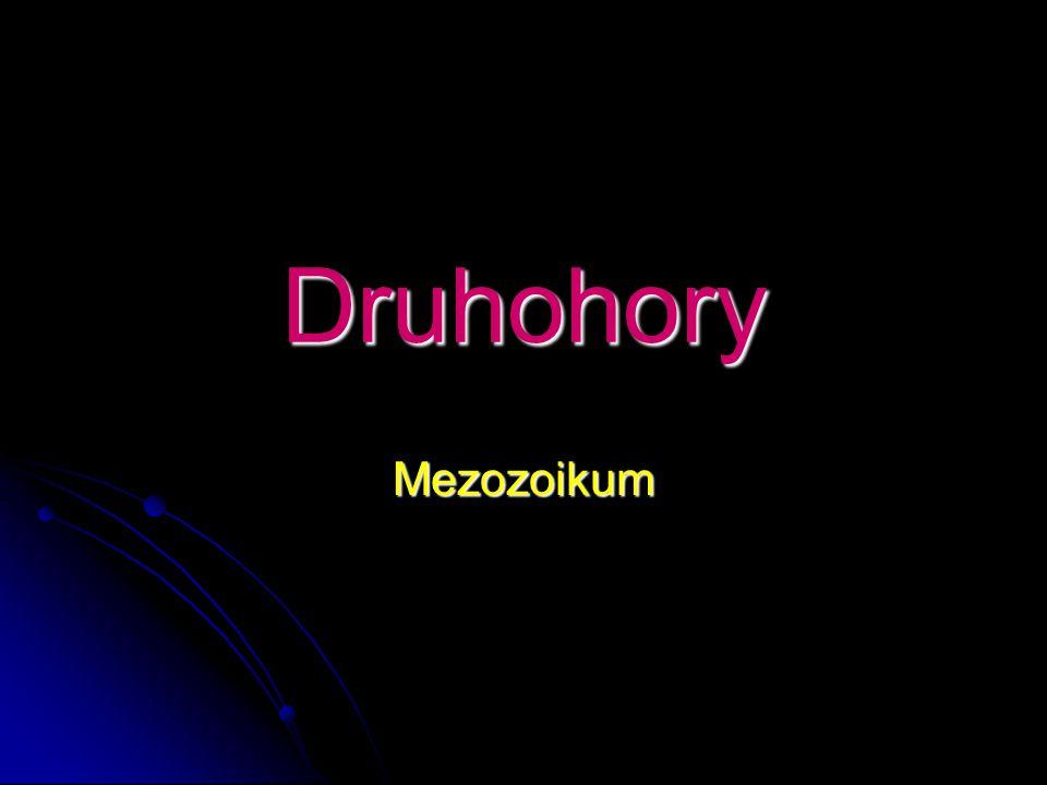 Druhohory Mezozoikum