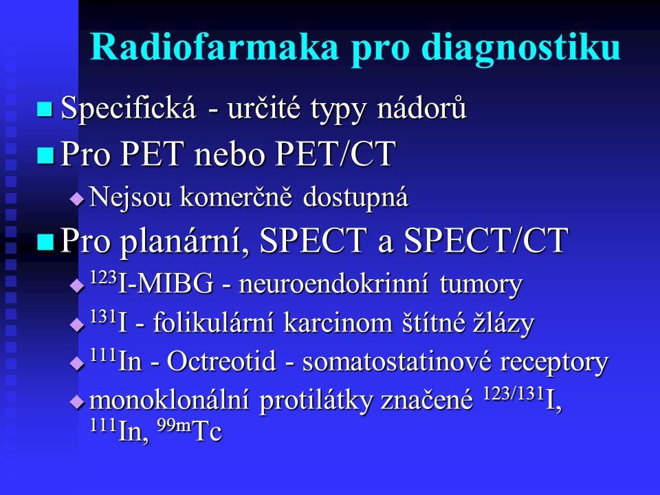 Radiofarmaka pro diagnostiku
