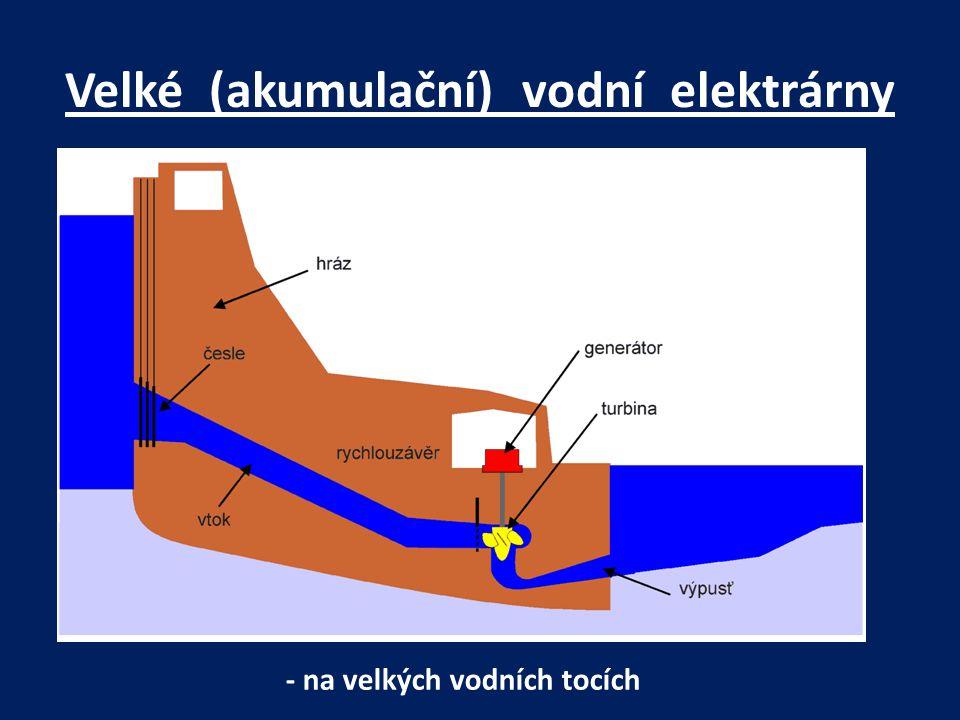 Velké (akumulační) vodní elektrárny
