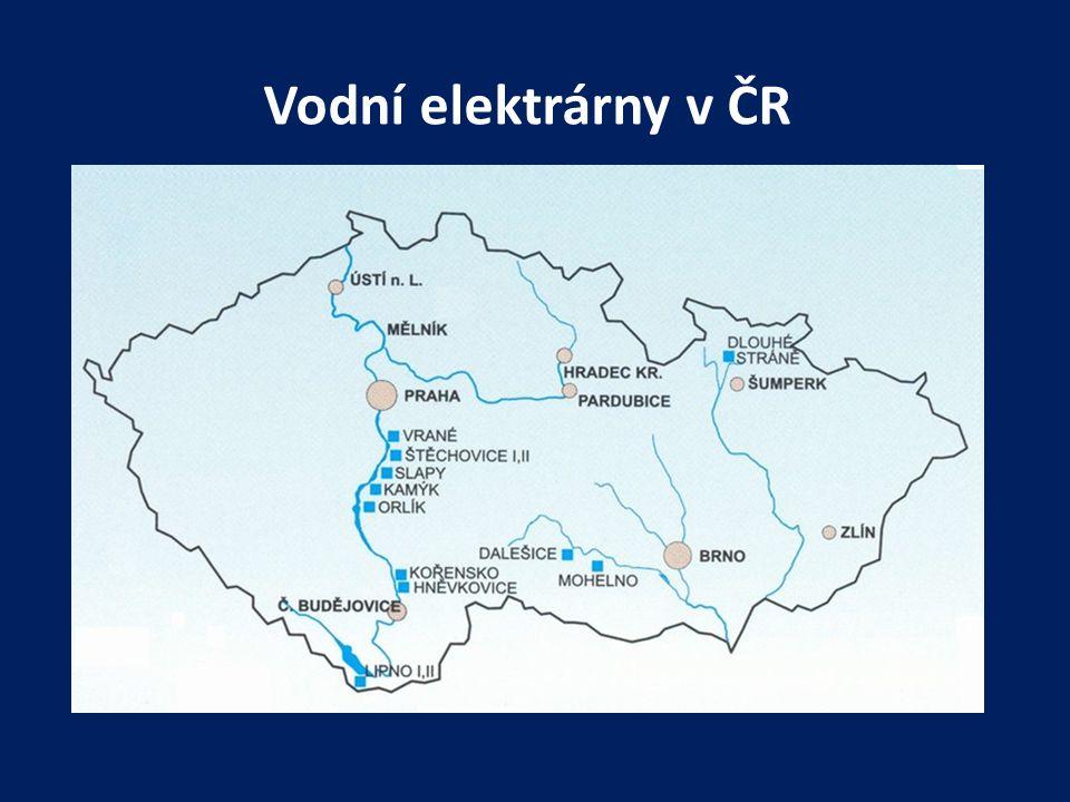 Vodní elektrárny v ČR
