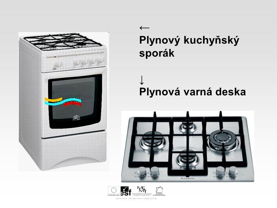 ← Plynový kuchyňský sporák ↓ Plynová varná deska