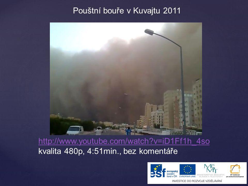 Pouštní bouře v Kuvajtu 2011