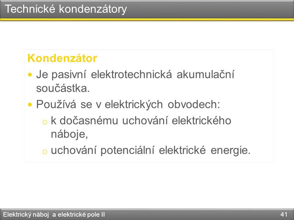 Technické kondenzátory