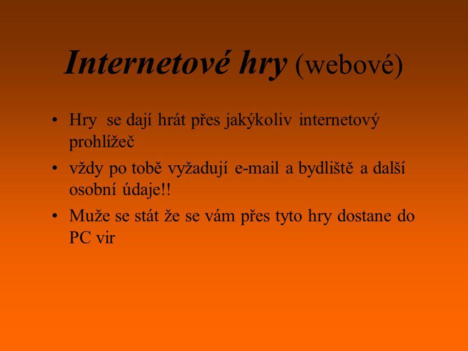 Internetové hry (webové)