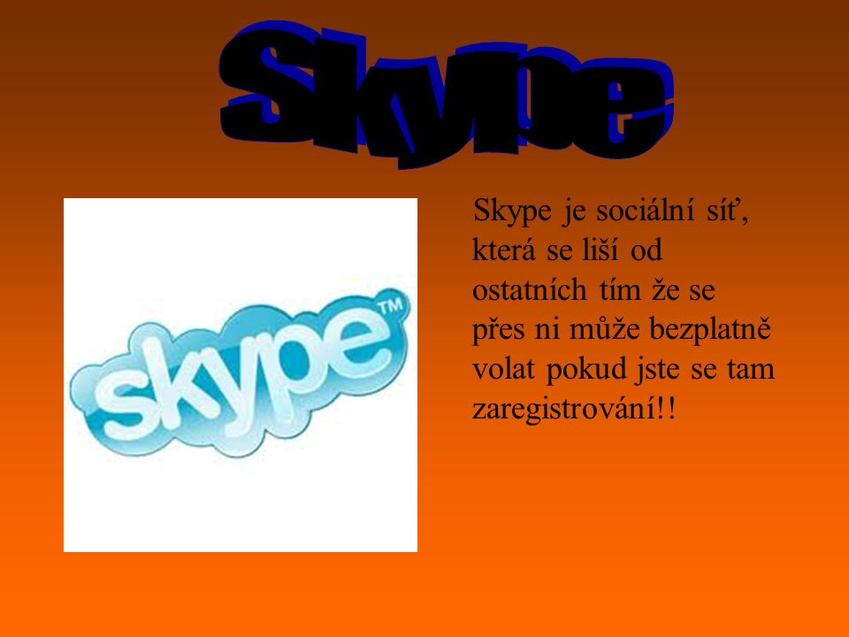 Skype .