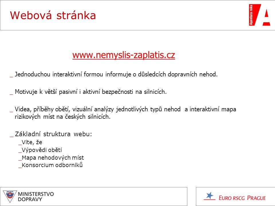 Webová stránka www.nemyslis-zaplatis.cz