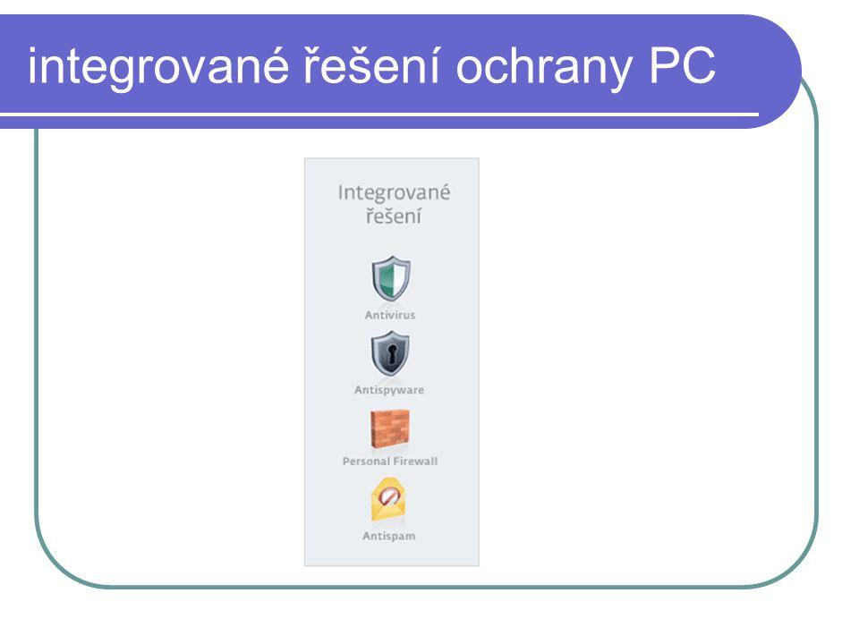 integrované řešení ochrany PC
