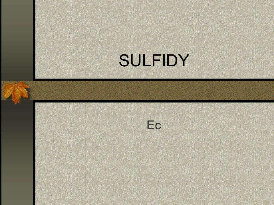 SULFIDY Ec