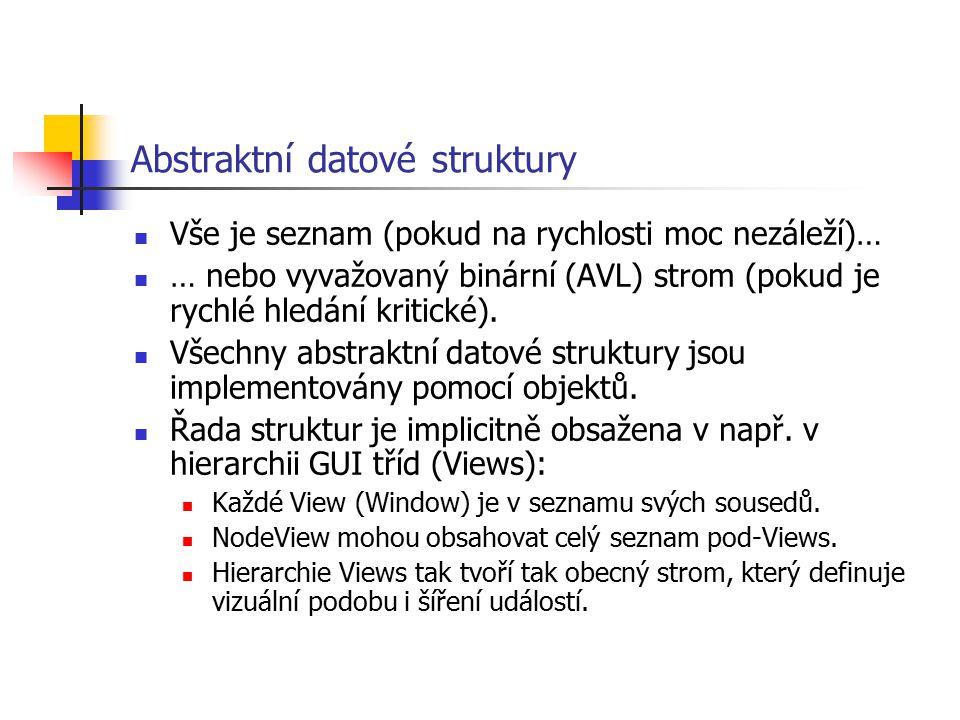 Abstraktní datové struktury