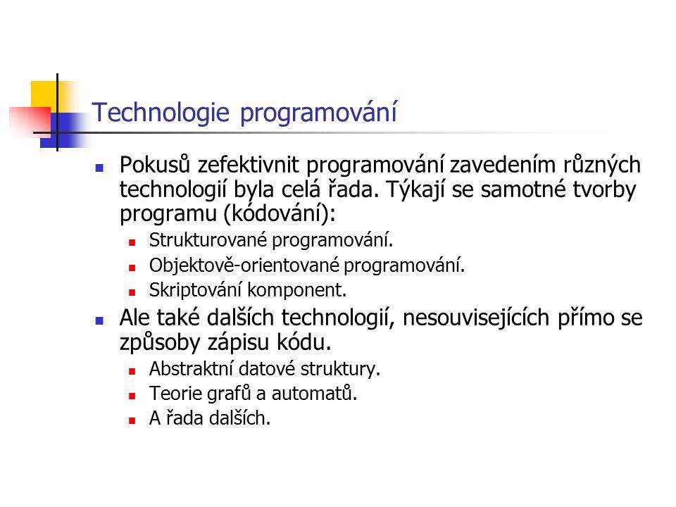 Technologie programování