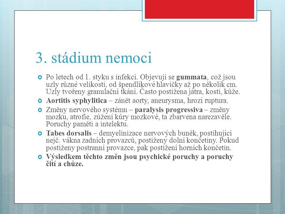 3. stádium nemoci
