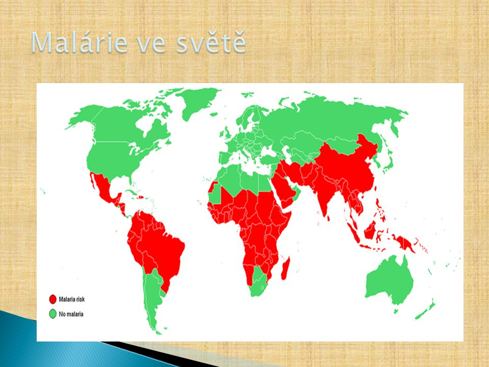 Malárie ve světě