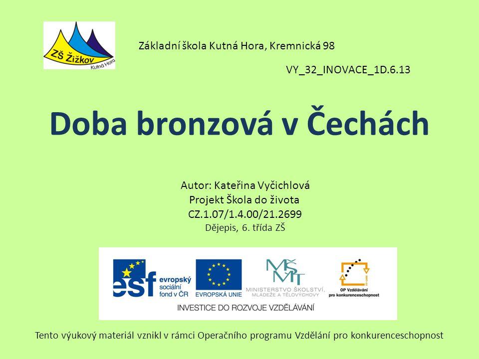 Doba bronzová v Čechách