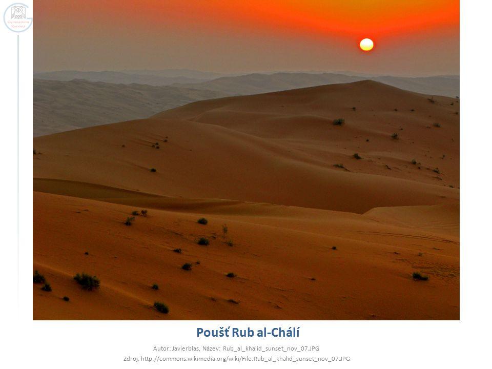 Autor: Javierblas, Název: Rub_al_khalid_sunset_nov_07.JPG