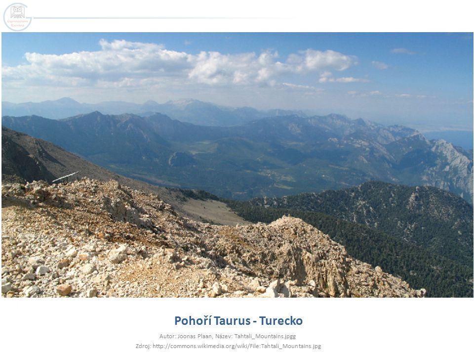 Pohoří Taurus - Turecko