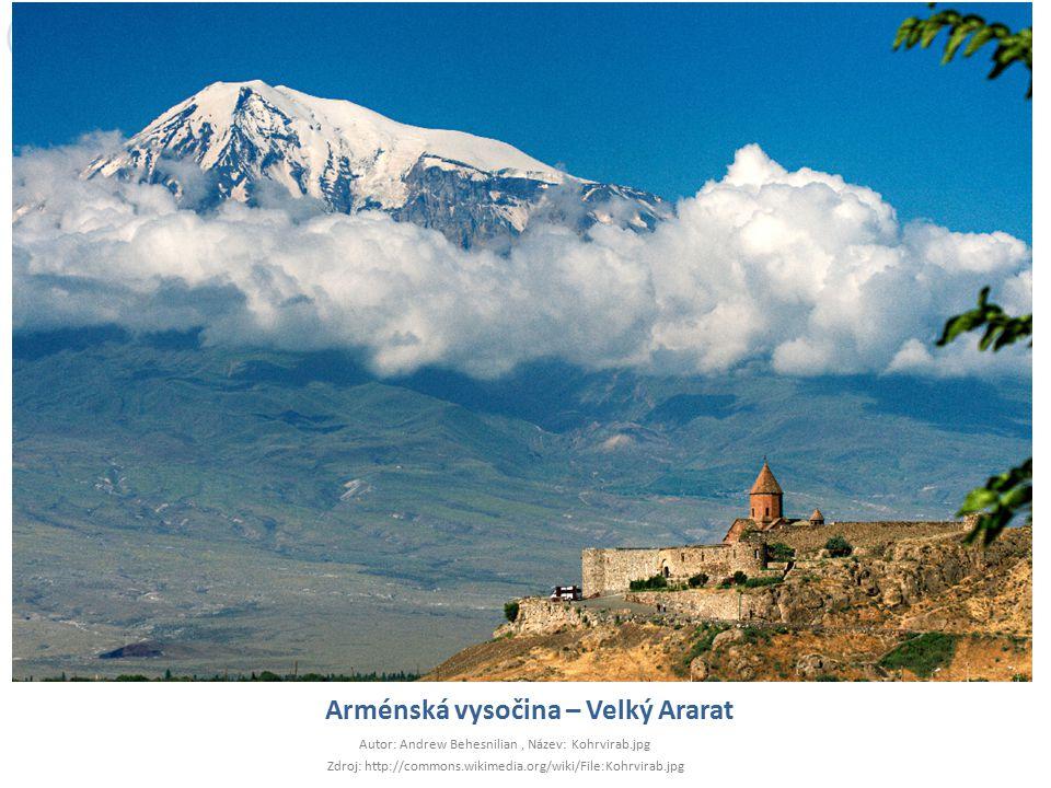 Arménská vysočina – Velký Ararat