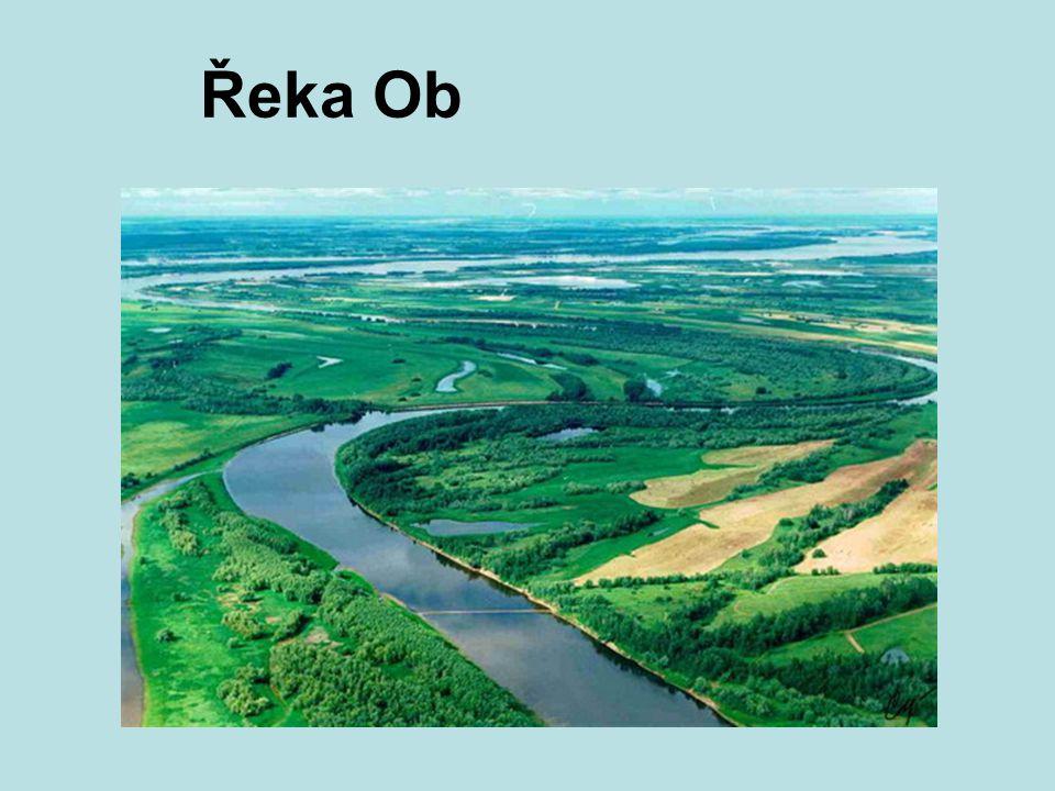 Řeka Ob
