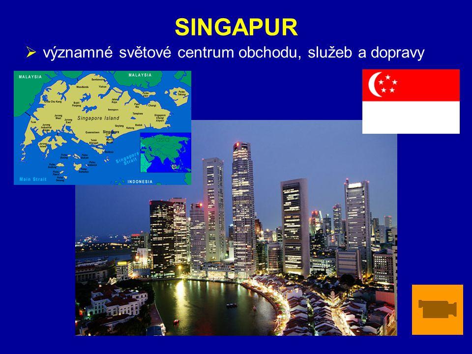 ZÁKLADNÍ ÚDAJE SINGAPUR