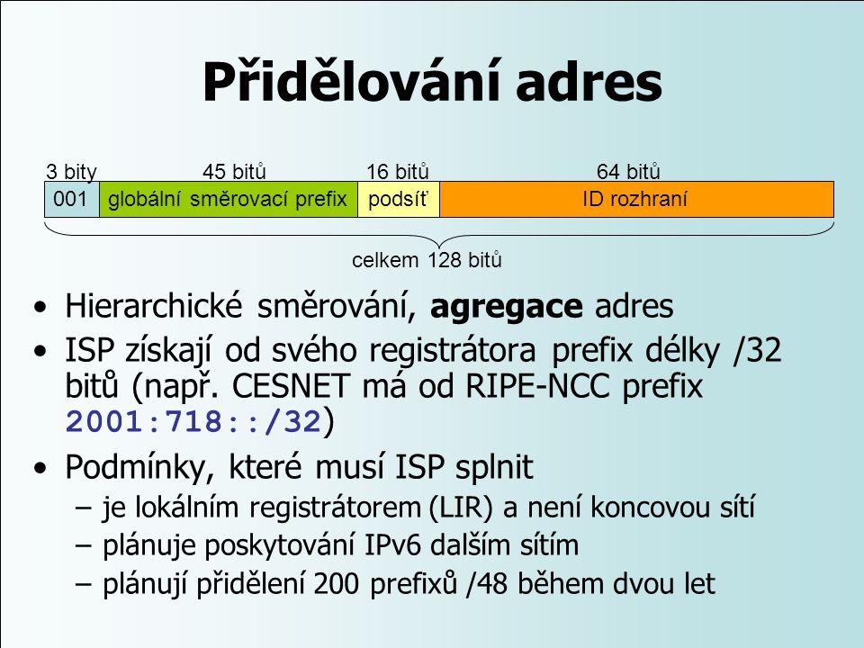 globální směrovací prefix