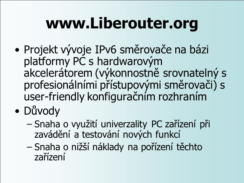 www.Liberouter.org