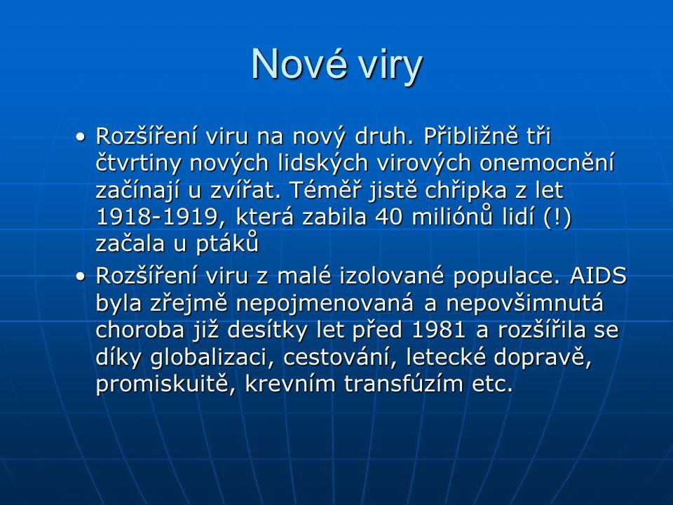 Nové viry