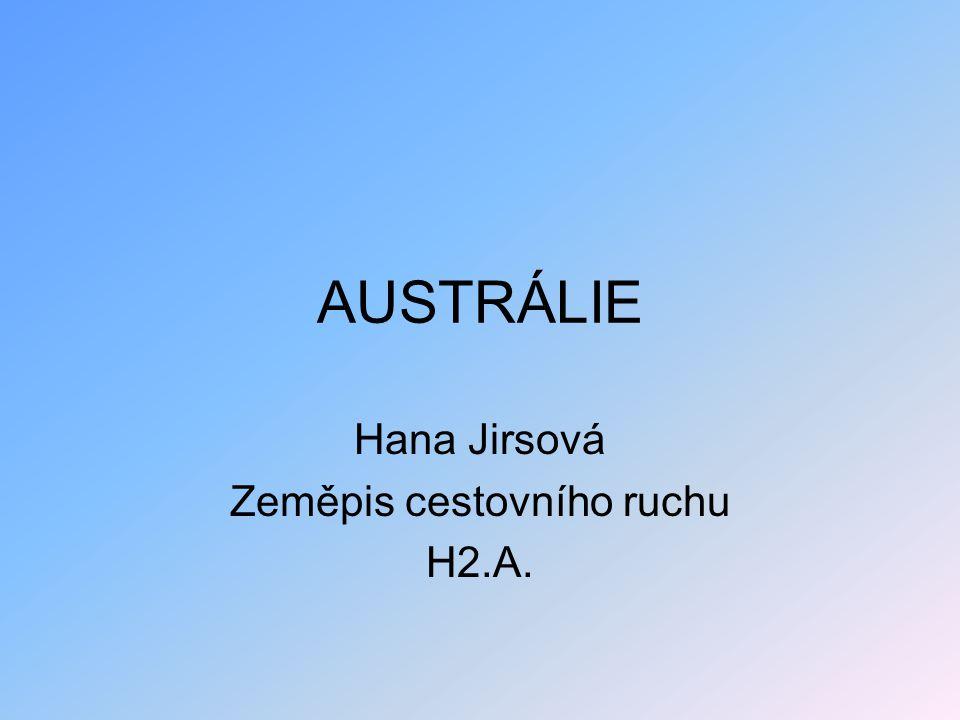 Hana Jirsová Zeměpis cestovního ruchu H2.A.