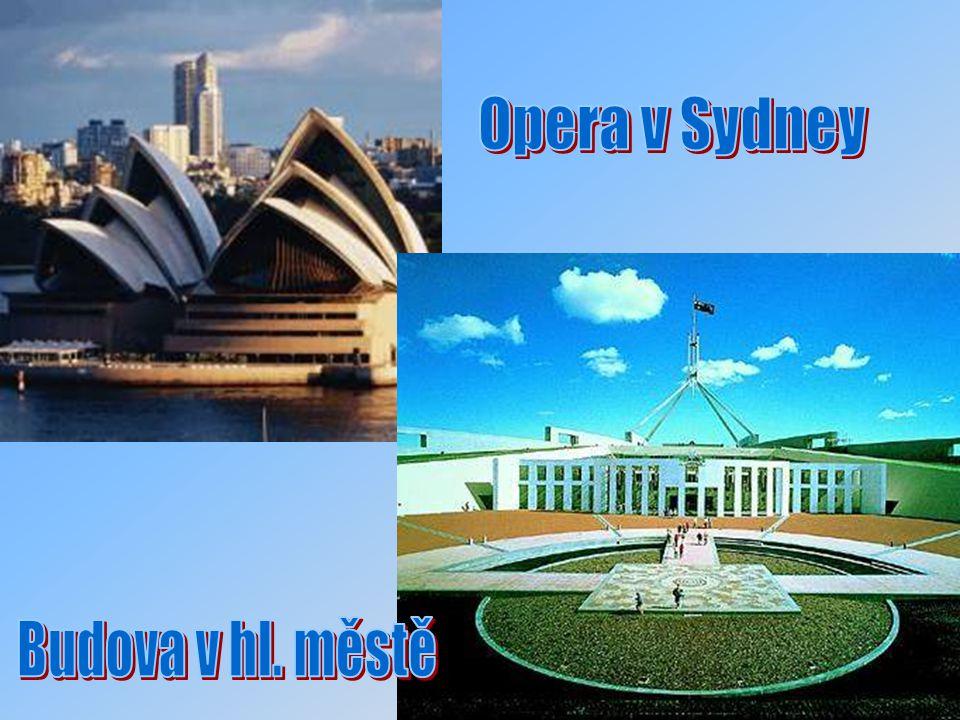 Opera v Sydney Budova v hl. městě