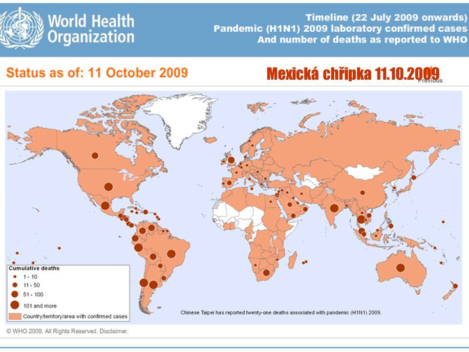Mexická chřipka 11.10.2009