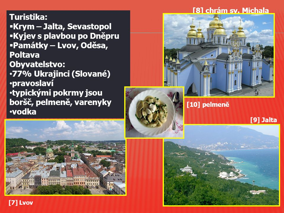 Krym – Jalta, Sevastopol Kyjev s plavbou po Dněpru